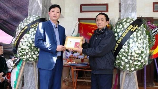 Thanh Hóa: Truy tặng huy hiệu 'Tuổi trẻ dũng cảm' cho nam sinh cứu người