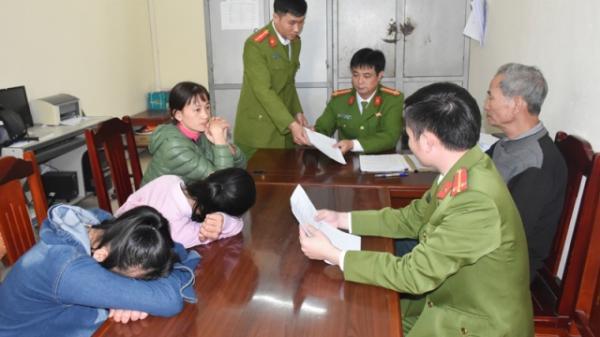 Bàn giao 2 nữ sinh Thanh Hóa bỏ nhà đi tìm việc cho gia đình