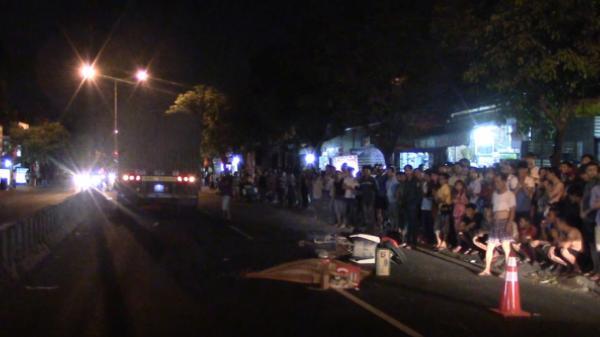 Tai nạn trong đêm, 1 người đàn ông quê Thanh Hóa tử vong do bị xe container cán qua