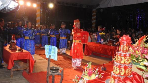 Thanh Hóa: Khai ấn đền Trần diễn ra trong không khí trang nghiêm