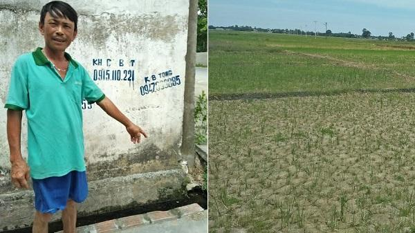 Thanh Hóa: Nghịch lý nước ngập nhà nhưng đồng lại cạn khô