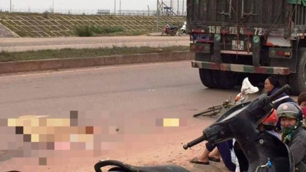 Thanh Hóa: Xe đầu kéo cán tử vong người phụ nữ đi xe đạp từ phía sau