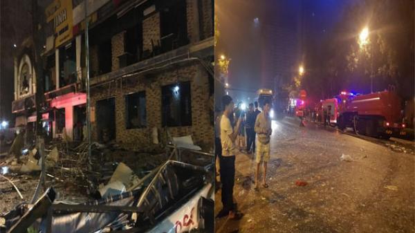 Nóng: Một tòa nhà hai tầng phát nổ khủng khiếp ngay giữ đêm, chưa xác định số người thương vong