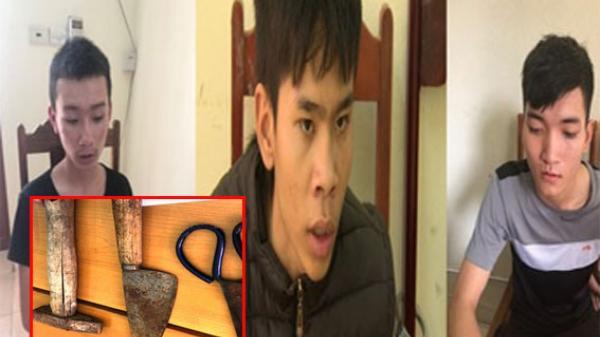 Thanh Hóa: Nhóm cướp táo tợn dùng dao kiếm khống chế phụ nữ đi đường, cướp giật 18 vụ