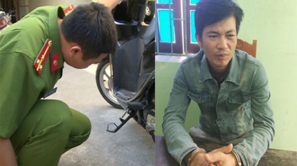 """Thanh Hóa: Đối tượng """"ngáo đá"""" dùng dao đe dọa cướp xe máy rồi chạy đến công an trình báo"""
