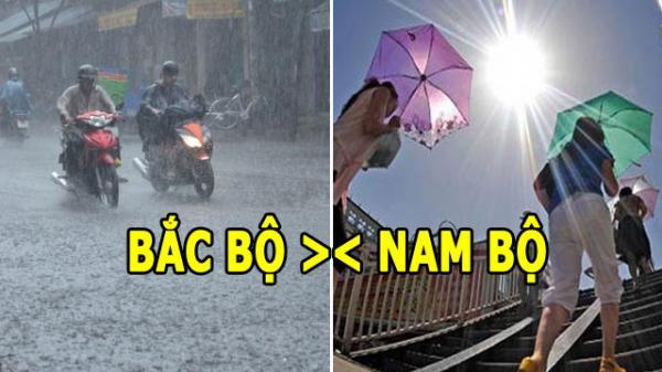 Dự báo thời tiết (27/3): Thời tiết Nam - Bắc đối lập, Hà Nội sắp đón mưa to