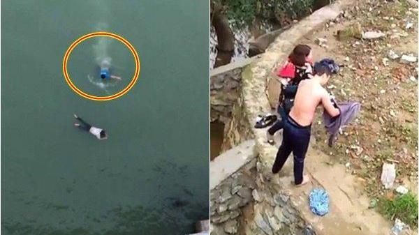 """""""Soái ca"""" liều mình nhảy cầu cứu sống nữ sinh tự tử ở Thanh Hóa"""