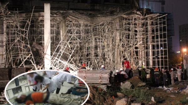 Nam công nhân quê Thanh Hóa nguy kịch khi rơi từ giàn giáo xuống mái nhà