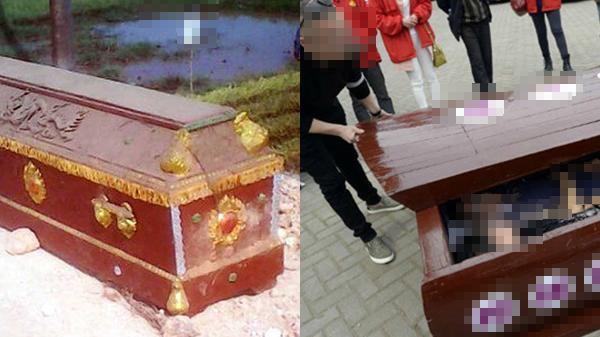 Vợ bầu 8 tháng đột ngột qua đời, lúc chuẩn bị mang chôn thì đứa trẻ hàng xóm hét lên kinh hoàng