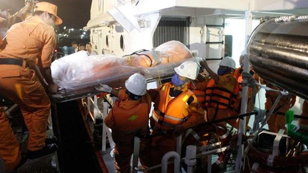 Trả bảo hiểm cho gia đình có thuyền viên gặp nạn của tàu Hải Thành