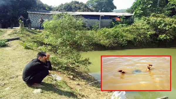Thanh Hóa: Bàng hoàng phát hiện 3 bé trai chết đuối thương tâm dưới ao cá