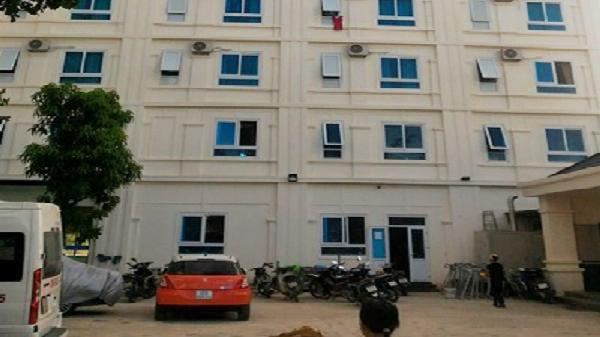Nhảy từ tầng 4 khách sạn, một phụ nữ tử vong