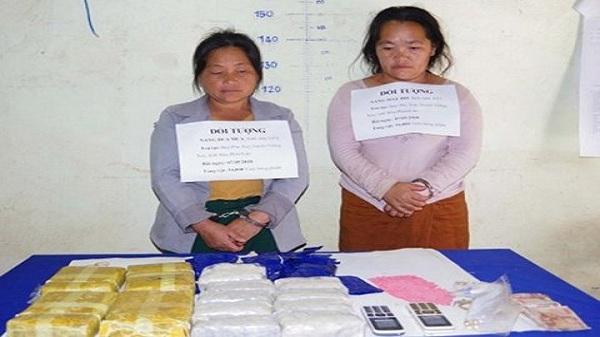 Thanh Hóa: Bắt giữ 2 đối tượng người Lào vận chuyển 34.000 viên ma túy qua đường biên giới