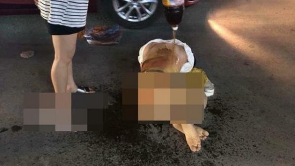 Thanh Hóa: Cô gái trẻ bị đánh ghen kinh hoàng, nhóm người xông vào lột đồ, đổ nước mắm, muối ớt lên người