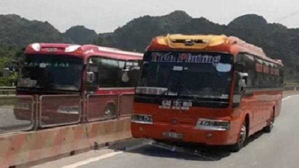 Thanh Hóa: Tài xế xe khách chạy ngược chiều bị tước giấy phép lái xe 2 tháng