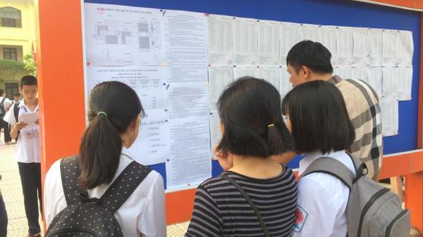 Điểm chuẩn trúng tuyển vào lớp 10 năm học 2018 -2019 tại Thanh Hóa