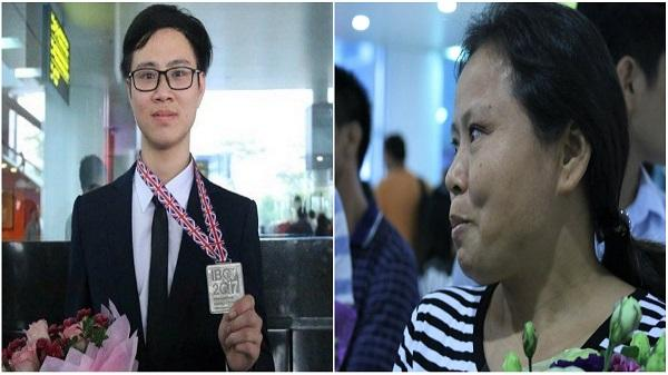 Thanh Hóa: Ước mơ được đi học của mẹ và Huy chương Olympic quốc tế của con