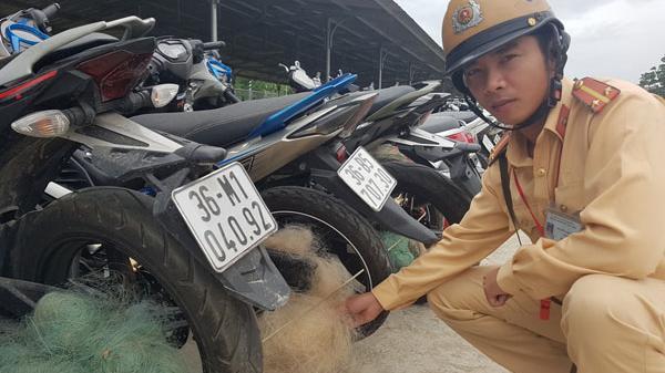 Thanh Hóa: CSGT lại quăng lưới chặn vi phạm giao thông