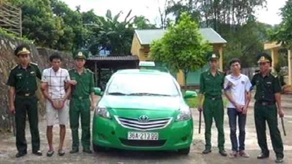 Thanh Hóa: Thuê taxi từ thành phố lên biên giới mua ma túy