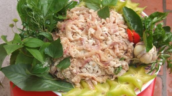 Về đất Nga Sơn -Thanh Hóa thưởng thức gỏi cá nhệch, món ăn gói trọn hương vị biển cả