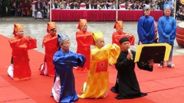Lễ hội Đền Độc Cước (TP Sầm Sơn) được công nhận là Di sản văn hóa phi vật thể quốc gia