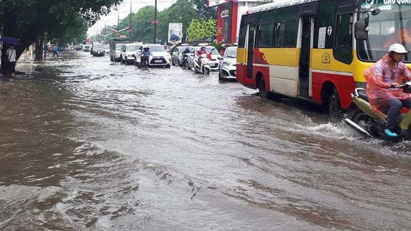 Thanh Hóa ngập như sông sau mưa lớn