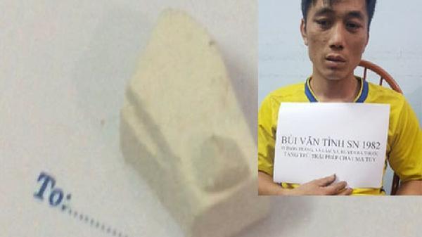 Thanh Hóa: Vừa ra tù lại tiếp tục bị bắt vì tàng trữ trái phép ma túy