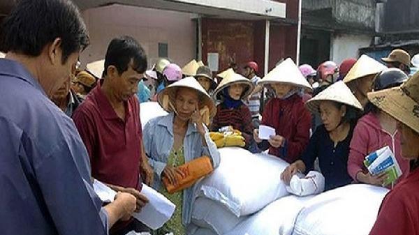 Xuất cấp gạo hỗ trợ nhân dân tỉnh Thanh Hóa
