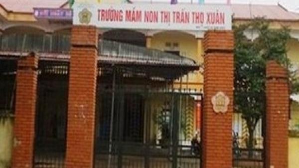 Thanh Hóa: Một học sinh mẫu giáo tử vong tại trường