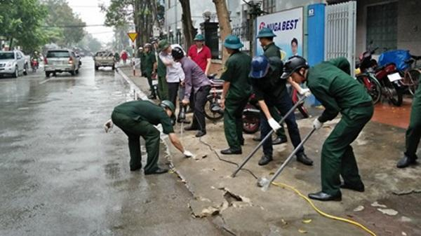 Kết quả bước đầu ra quân lập lại trật tự đô thị ở TP Thanh Hóa