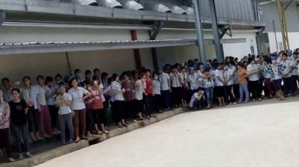 Thanh Hóa: Hàng nghìn công nhân bãi công đòi quyền lợi