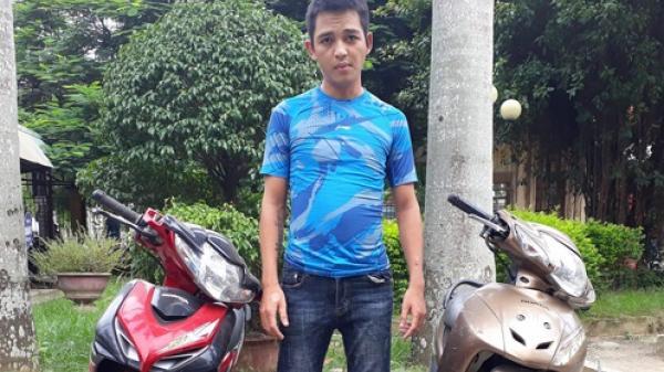 Thanh Hóa: Bắt 9X trộm nhiều xe máy bằng thủ đoạn tinh vi
