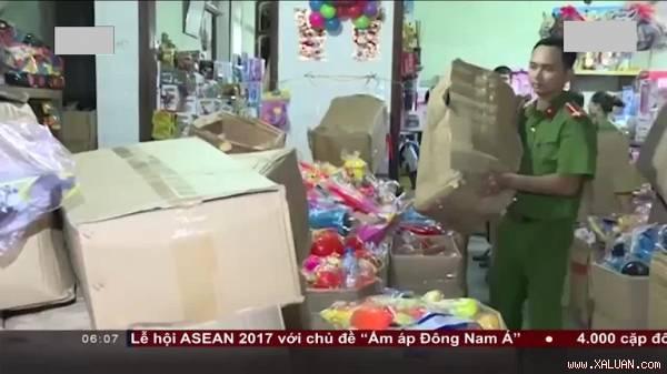 Thanh Hóa: Phát hiện hơn 1000 khẩu súng nhựa và đồ chơi bạo lực
