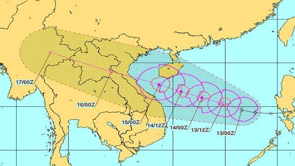 Cơn bão mạnh nhất trong nhiều năm hướng vào Thanh Hóa - Quảng Bình