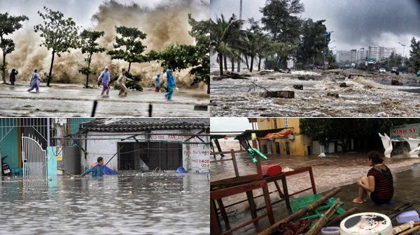 Bàng hoàng nhìn lại sức tàn phá khủng khiếp của cơn bão số 10 đối với khúc ruột miền Trung