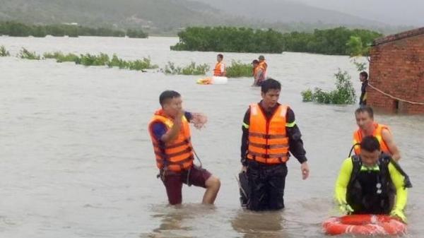Thanh Hóa: Một người đàn ông bị đuối nước, mất tích trong bão số 10