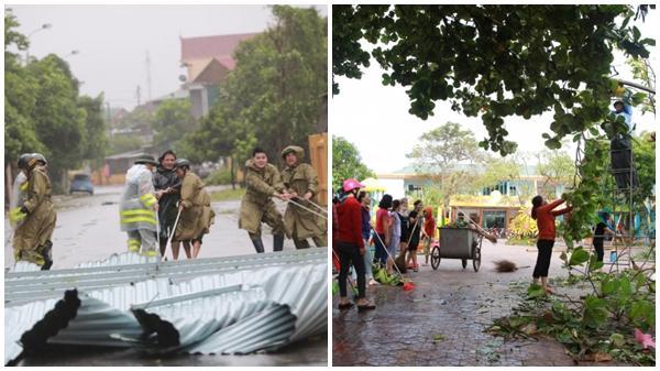 Miền Trung có 12 người thương vong, 23 nghìn ngôi nhà bị tốc mái do cơn bão số 10