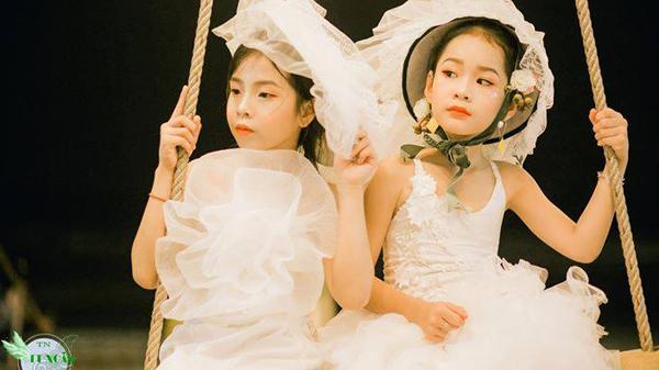 """Mãn nhãn với màn trình diễn ấn tượng của các thiên thần nhí trong BST """"Nàng thơ"""" của NTK Thiều Nhung"""