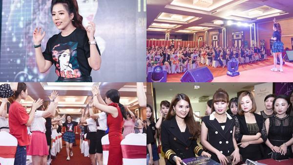 CEO - Diễn giả Đào Minh Châu cháy hết mình cùng hơn 500 học viên trong sự kiện 'Tin để thành công' tại Thanh Hóa