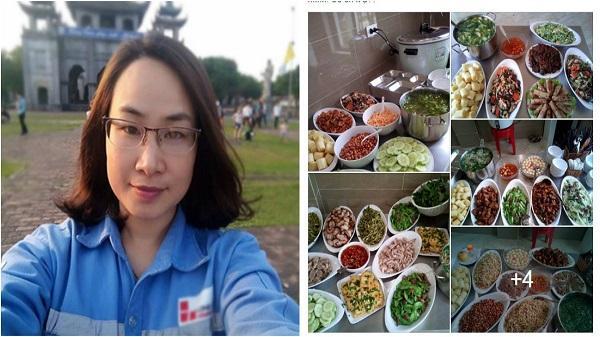 Nữ bếp trưởng Thanh Hóa khoe mâm 'buffet văn phòng' chỉ 30 nghìn/người ai cũng thèm