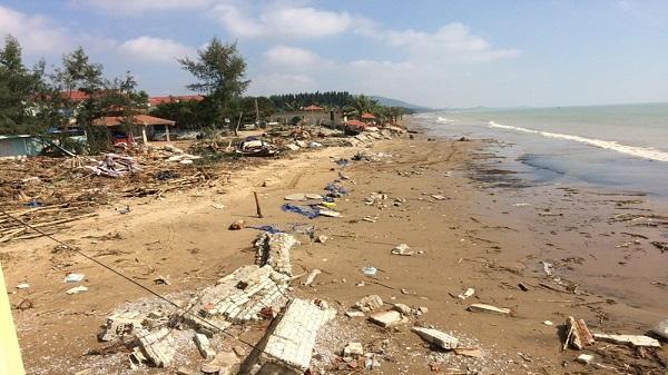 Thanh Hóa: Đầu tư khoảng 100 tỷ đồng xử lý khẩn cấp kè biển Hải Tiến