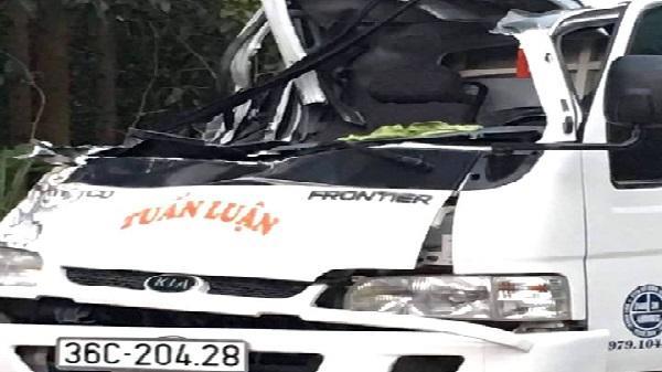 Thanh Hóa: 1 chiến sỹ công an tử vong do tai nạn giao thông