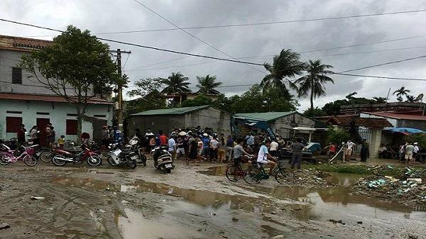 Thanh Hóa: Một phụ nữ bị nước cuốn xuống cống tử vong