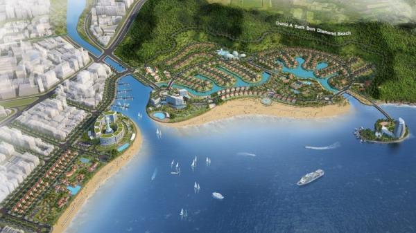 Thanh Hóa: Đầu tư dự án khu đô thị sinh thái biển Đông Á