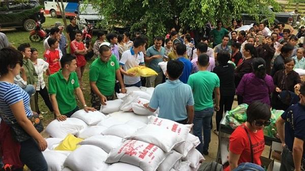 Thanh Hóa: Chung tay hỗ trợ đồng bào Yên Nhân thiệt hại do mưa lũ