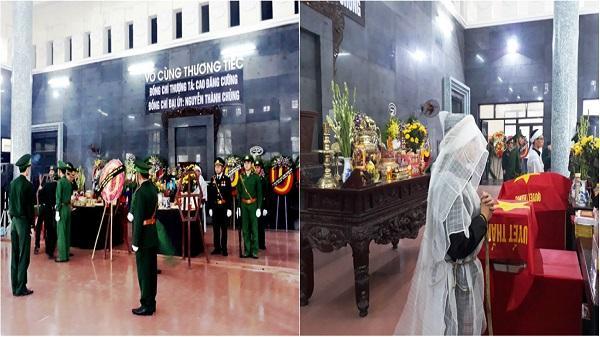 Thanh Hóa: Xúc động lễ truy điệu 2 cán bộ biên phòng bị lũ cuốn