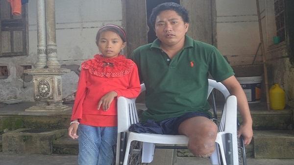 Nghệ An: Số phận nghiệt ngã của người đàn ông cụt hai chân, vợ bỏ đi biệt tích