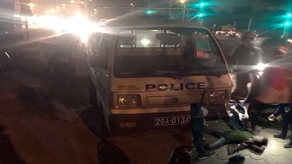 Nam thanh niên quê Thanh Hóa bị nhóm người lạ chém gục trên đường