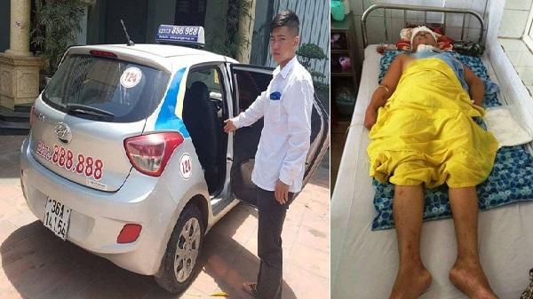 Tài xế taxi mở bung cửa chở người đi cấp cứu nói gì?