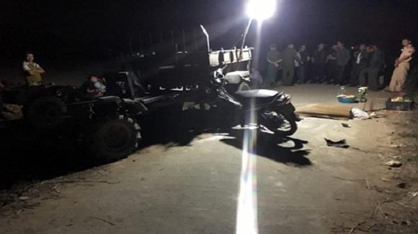 Thanh Hóa: Va chạm với xe đầu dọc, 1 người đàn ông tử vong
